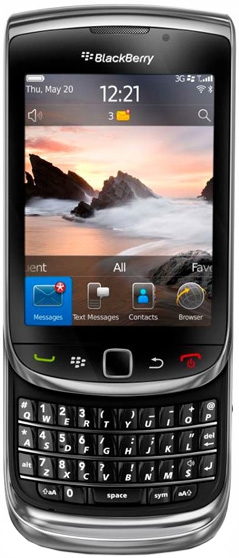 Viber для BlackBerry Torch 9800